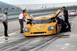 La Pontiac Crawford n°39 du Silverstone Racing (Chris Hall, Larry Huang)