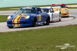 La Porsche GT3 Cup n°86 du G&W Motorsports (Tracy Krohn, Andres Van Der Dys, Mae Van Wijk, Armando Trentini, Ron Forristall)