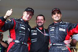 Gianmaria Bruni, Paul Stoddart and Zsolt Baumgartner