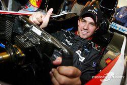 Tiago Monteiro in the new Minardi PS04B