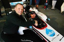 Bas Leinders dans la nouvelle Minardi PS04B