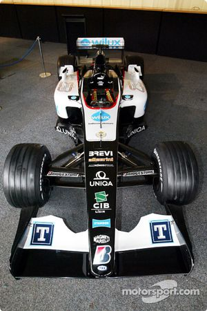 The new Minardi PS04B