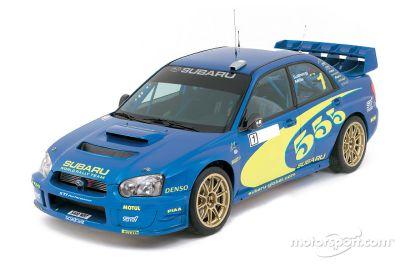 Présentation de la Subaru Impreza WRC 2004