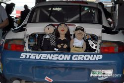 Le garage de l'équipe Stevenson Motorsports / Auto Assets