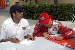 Jimmy Morales et Luis Diaz