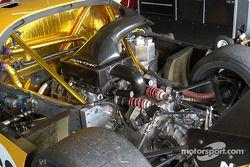 Le garage de l'équipe Silverstone Racing Services