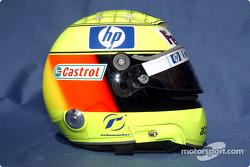 Photoshoot: Ralf Schumacher's helmet