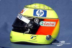Casco de Ralf Schumacher