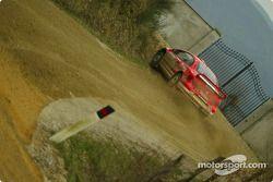 Essais de la Peugeot 307WRC en Toscane : Marcus Gronholm et Timo Rautiainen