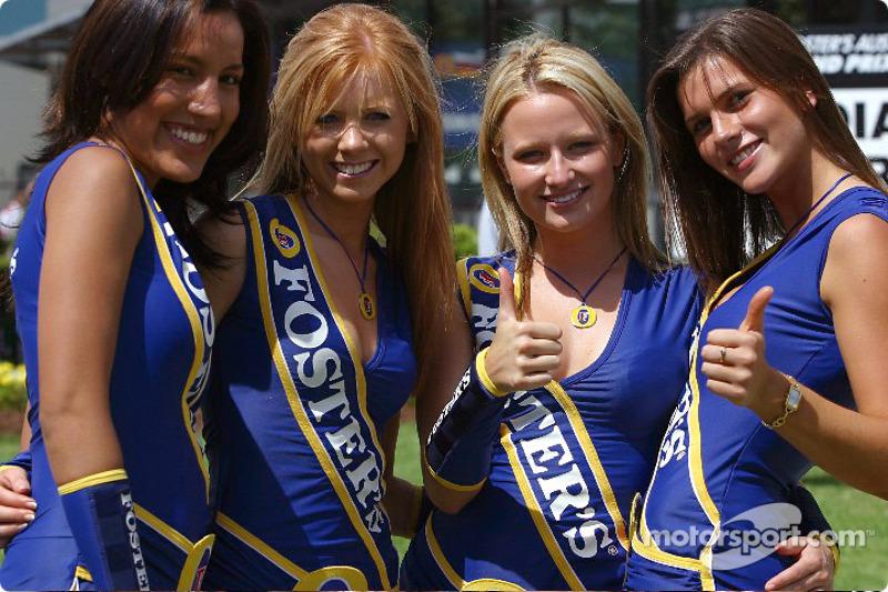 The lovely Foster's girls