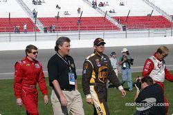 Photoshoot NEXTEL : Sterling Marlin, Dale Jarrett et Bill Elliott