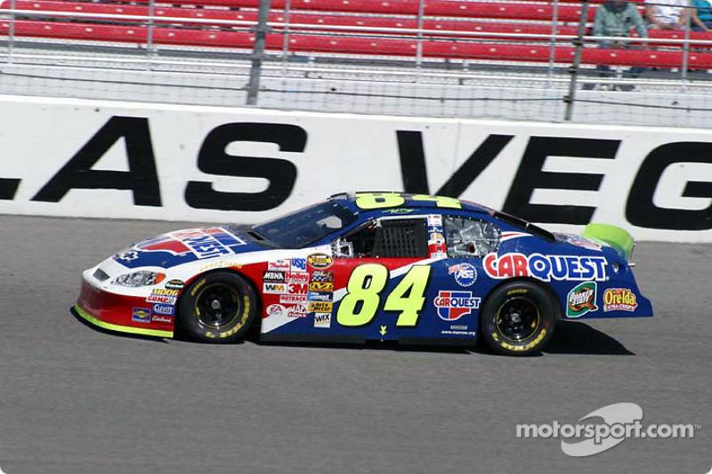 Las Vegas 2004: Cup-Debüt für Kyle Busch