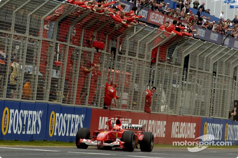 Melbourne - Michael Schumacher - 4 victorias