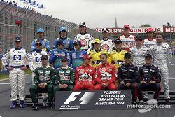 La clase de 2004: pilotos del Campeonato de Fórmula 1 de la FIA 2004