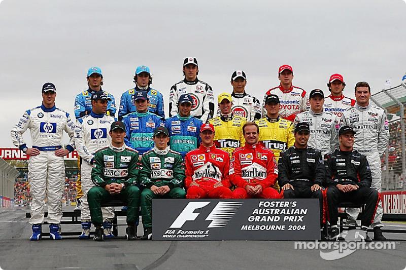 Clase 2004 Fórmula 1
