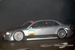 Frank Biela im neuen Audi A4 DTM