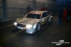 Frank Biela dans l'Audi A4 DTM