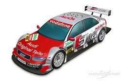 Vue 3D de l'Audi A4 DTM