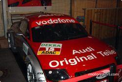 L'Audi exposée
