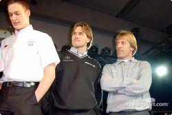 Peter Dumbreck, Markus Winklehock et Joachim Winklehock