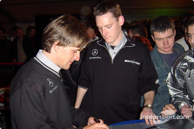 Markus Winkelhock, Mercedes
