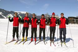 Emanuele Pirro, Frank Biela, Tom Kristensen, Christian Abt, Mattias Ekström und Martin Tomczyk
