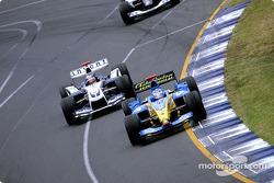 Jarno Trulli et Juan Pablo Montoya