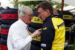 Bernie Ecclestone et Eddie Jordan