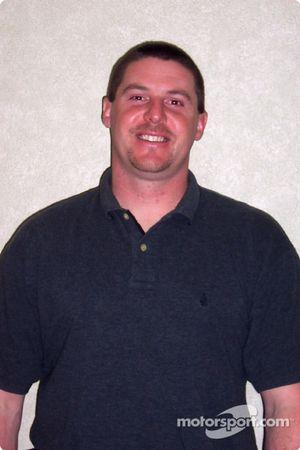 Rodney Fetters, préposé au cric de la Ford n°38 de Yates