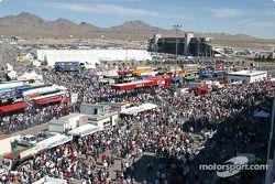 La foule avant la course