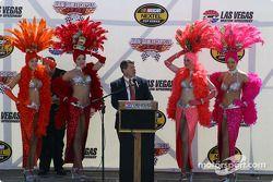 Le Vice-Président du Las Vegas Motor Speedway
