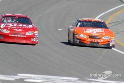 Tony Stewart puts Dale Earndardt Jr. down another lap