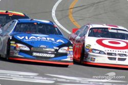 Mark Martin and Casey Mears