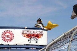 Yellow flag flies again