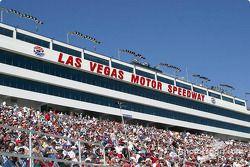 La foule au Las Vegas Motor Speedway