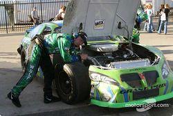 David Green's car