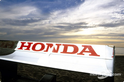 BAR-Honda rear wing