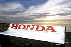 L'aileron arrière de la BAR Honda
