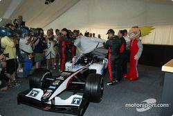 Minardi dévoile la nouvelle Minardi PS04B