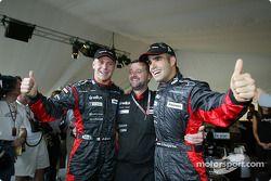 Gianmaria Bruni, Paul Stoddart et Zsolt Baumgartner