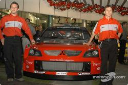 Evento de los medios de comunicación de Mitsubishi: Gilles Panizzi