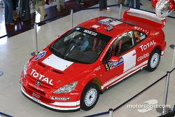 Peugeot 307WRC en exhibición