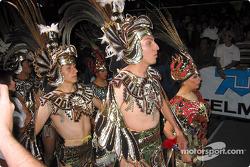 Ceremonia de salida en Ganajuato