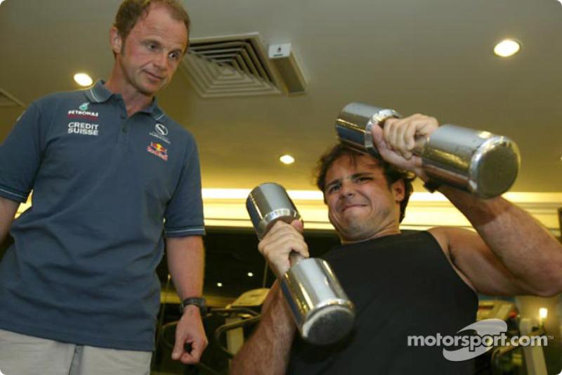 Sauber pilotu kampı Kota Kinabalu: Felipe Massa
