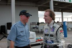 Team owner Rob Dyson and driver James Weaver