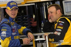 Kurt Busch y Matt Kenseth