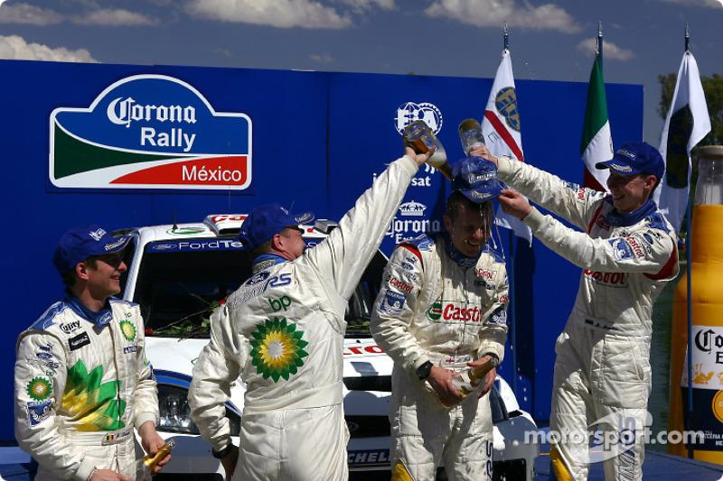 2004: Markko Martin y Michael Park, Ford Focus RS WRC 03