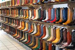 Una amplia variedad de botas vaqueras