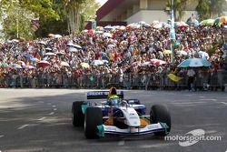 Sauber Petronas demo in Kuching: demo run for Felipe Massa