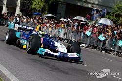Sauber Petronas demo in Kuching: demo run for Giancarlo Fisichella